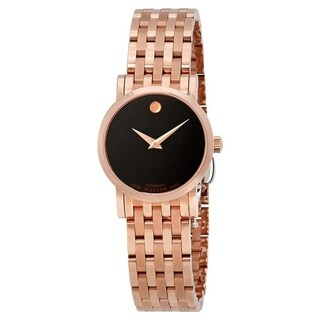 Movado Women's '1881' Automatic Rose-Tone Stainless Steel Watch