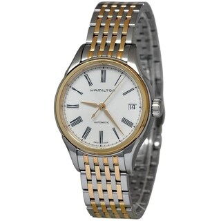 Hamilton Women's H39425114 'Valiant' Automatic Two Tone Stainless Steel Watch