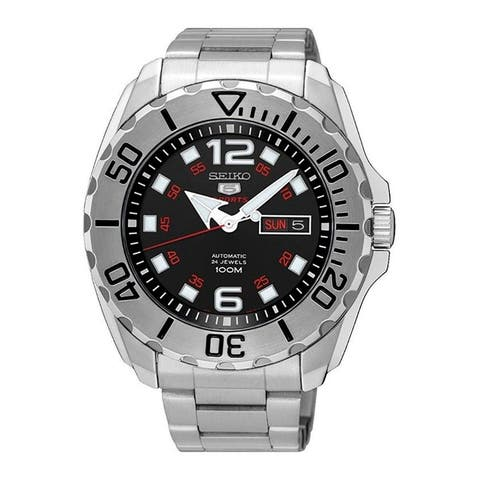 Seiko Men's '5' Automatic Stainless Steel Watch