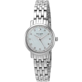 Link to Kate Spade Women's KSW1241 'Mini Monterey' Crystal Stainless Steel Watch Similar Items in Women's Watches