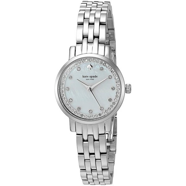 Kate Spade Women's KSW1241 'Mini Monterey' Crystal Stainless Steel Watch. Opens flyout.