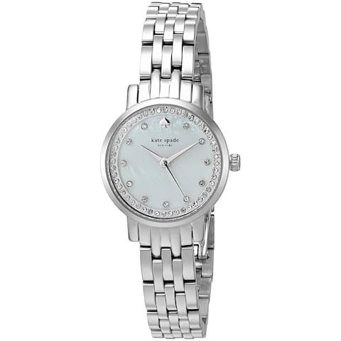Kate Spade Women's 'Mini Monterey' Crystal Stainless Steel Watch