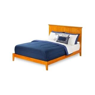 Atlantic Furniture Nantucket Wood Caramel Finish King-size Traditional Bed