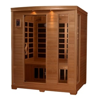 BL 6444 - 2-3 Person Low EMF Far Infrared Sauna with 9 Heaters