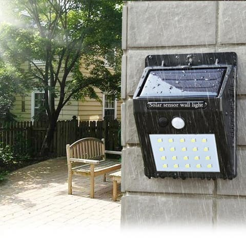 F.S.D LED Solar Powered Motion Sensor Security Light