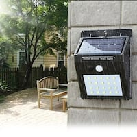 F.S.D LED Solar Powered Motion Sensor Security Light