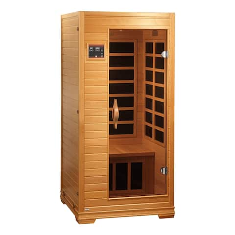 BL 6109 - 1-2 Person Low EMF Far Infrared Sauna with 8 Heaters