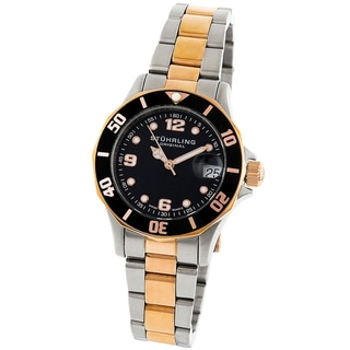 Stuhrling Original Women's Clipper Steel Divers Watch