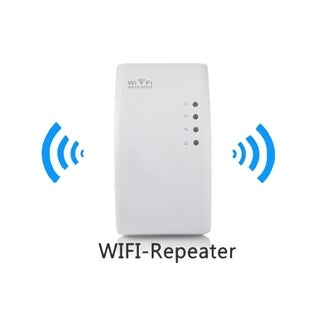 F.S.D WiFi Genius Repeater - Instantly Double Your WiFi Range