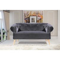 Aahil Chesterfield Loveseat