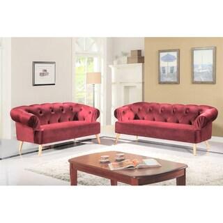 Aahil 2 Piece Living Room Set