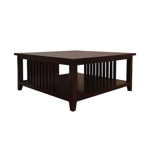 Brookdale Dark Walnut Coffee Table