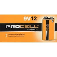 Duracell Procell 9 Volt Batteries (12 Count)