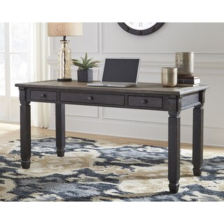 Signature Design by Ashley Tyler Creek Brown Wooden Large Home Office Desk