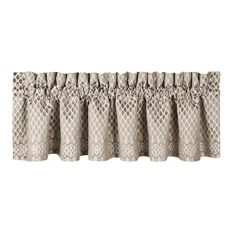 Five Queens Court Beaumont Champagne Straight Window Valance