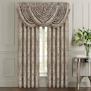 Five Queens Court Stanford Woven Jacquard Window Panel Pair
