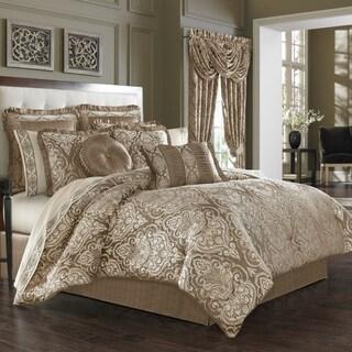 Five Queens Court Stanford Woven Jacquard 4 Piece Luxury Comforter Set