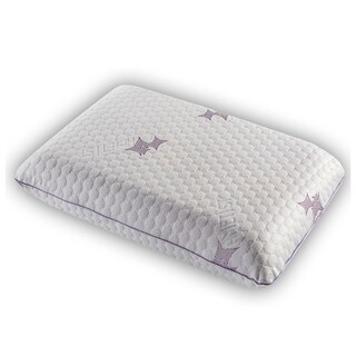Decorotika Serene Memory Foam Bed Pillow with Washable Cooling Hypoallergenic Cover