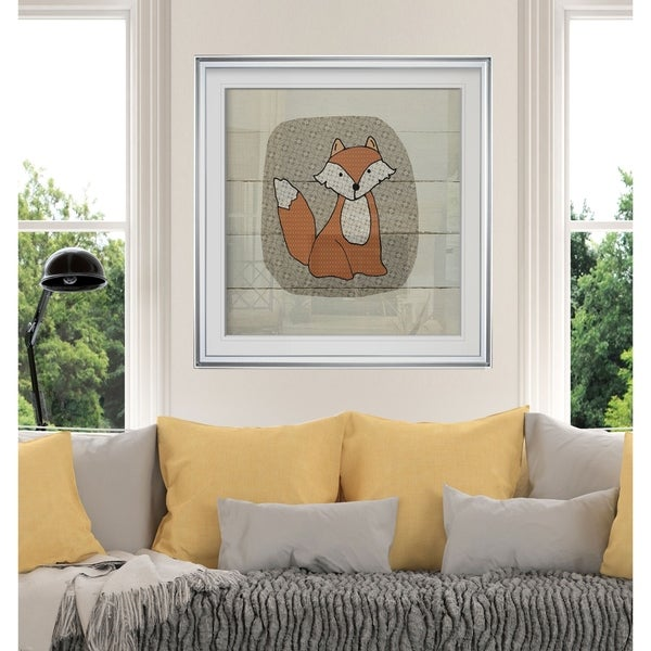 Woodland Hills Home For Custom: Shop Woodland Creatures Fox -Custom Framed Print
