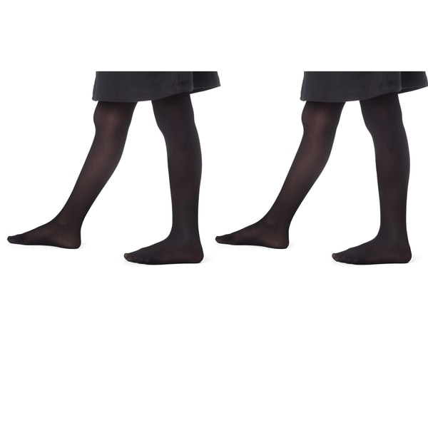 eeef8090d2494 Shop Girl's Opaque Dance footed tights (2pack) - Free Shipping On ...