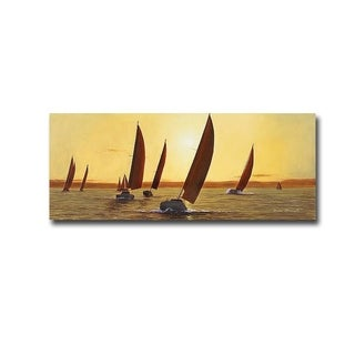 Sailing, Sailing by Diane Romanello Gallery Wrapped Canvas Giclee Art