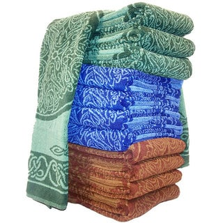 Handmade Cotton Celtic Towel (India)
