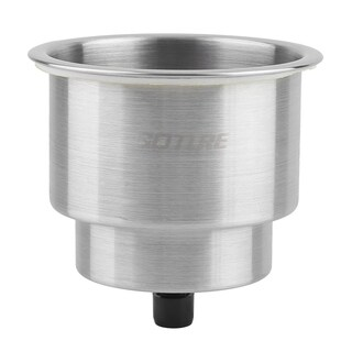 Stainless Steel Rust-Resistant Cup Shape Drink Holder for Marine Boat RV