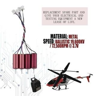 4PCS 6x15mm 19600kv Motor Set Mini Coreless Motor For Remote Control Model Toy