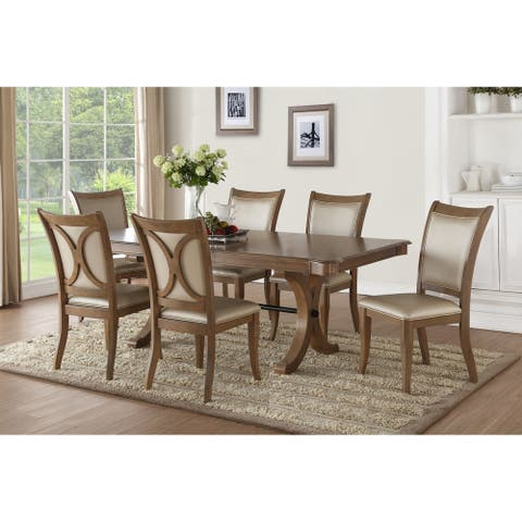 ACME Harald Dining Table in Gray Oak