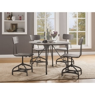 ACME Jonquil Dining Table in Gray Oak and Sandy Gray