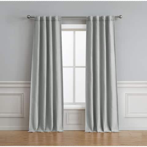 Bella Luna Astrid Thermal Room Darkening 76 in. x 84 in. Curtain Pair