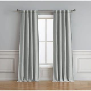 Bella Luna Astrid Thermal Room Darkening 76 in. x 96 in. Curtain Pair