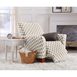 Home Fashion Designs Brenna Collection Stretch Form-Fitted Recliner Slipcover
