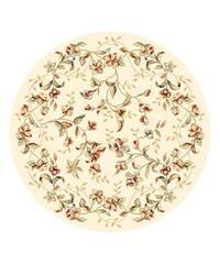 Safavieh Lyndhurst Traditional Floral Beige Rug - 5' 3 x 5' 3 round