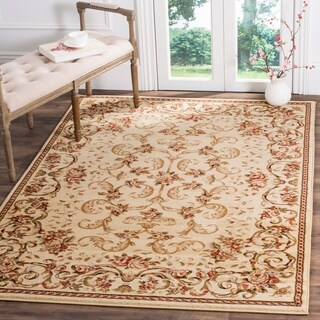 safavieh lyndhurst traditional floral ivory rug 8u0027 x