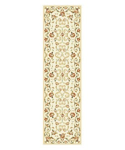 Safavieh Lyndhurst Traditional Floral Ivory Runner (2'3 x 8')
