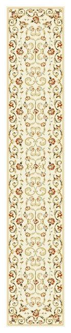 Safavieh Lyndhurst Traditional Floral Ivory Runner Rug - 2'3 x 12'