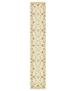 Safavieh Lyndhurst Traditional Floral Ivory Runner (2'3 x 12') - Thumbnail 0