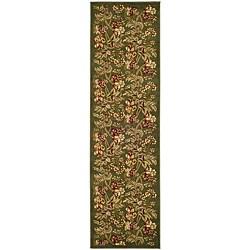 Safavieh Lyndhurst Traditional Floral Sage Runner (2'3 x 8')
