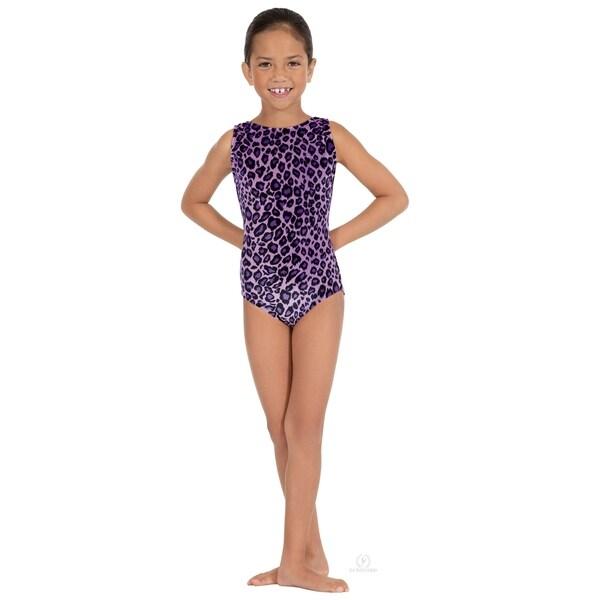 efd91bcf4cad Shop Eurotard girls Sweet Safari Gymnastics Tank Leotard (2089 ...