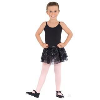 Eurotard girls Sparkle Camisole Leotard with Skirt (0205) (Option: Blue - XS)