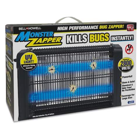 Bell Howell High Performance Monster Pest Insect Zapper - Black