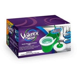 The Vortex Mop - Hands-Free Mop Wringing - Green