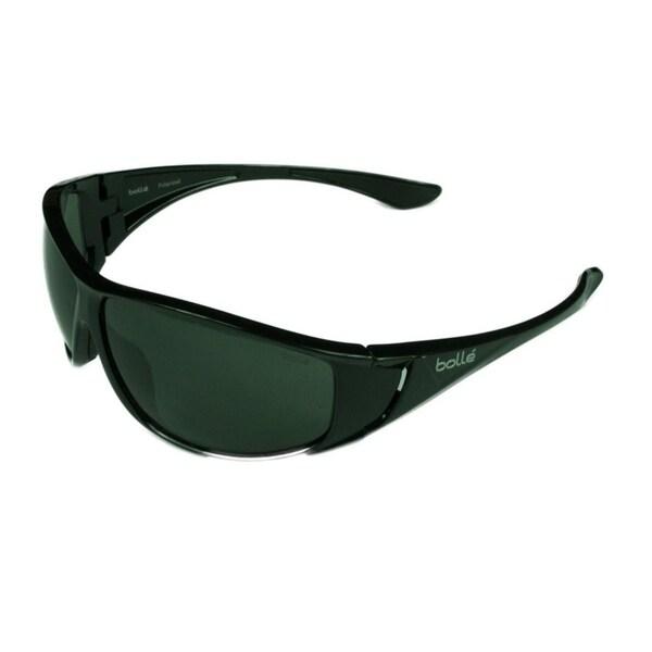 e168ce350d Shop Bolle Highwood Sunglasses Shiny Black w  Polarized TNS Lens ...