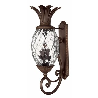 Hinkley Plantation 4-Light Outdoor Wall Mount in Copper Bronze