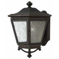 Hinkley Lincoln 1-Light Outdoor Wall Mount in Oil Rubbed Bronze