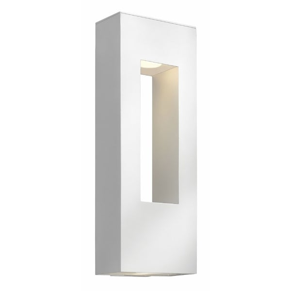 Hinkley Atlantis 2-Light Outdoor Wall Mount in Satin White. Opens flyout.