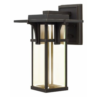 Hinkley Manhattan LED Outdoor Wall Mount in Oil Rubbed Bronze