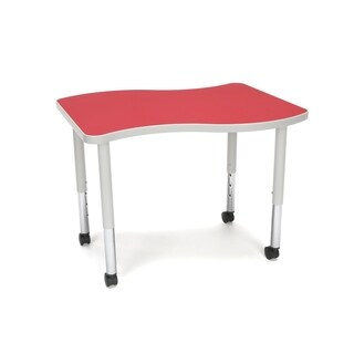 OFM Adapt Series Small Wave Table Height Adjustable Desk