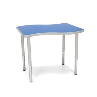 OFM Adapt Series Small Wave Table Height Adjustable Desk (More options available)